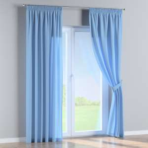 Pencil pleat curtains 130 x 260 cm (51 x 102 inch) in collection Loneta , fabric: 133-21
