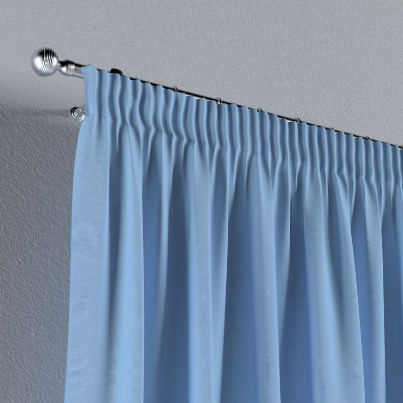 Pencil pleat curtain in collection Loneta , fabric: 133-21