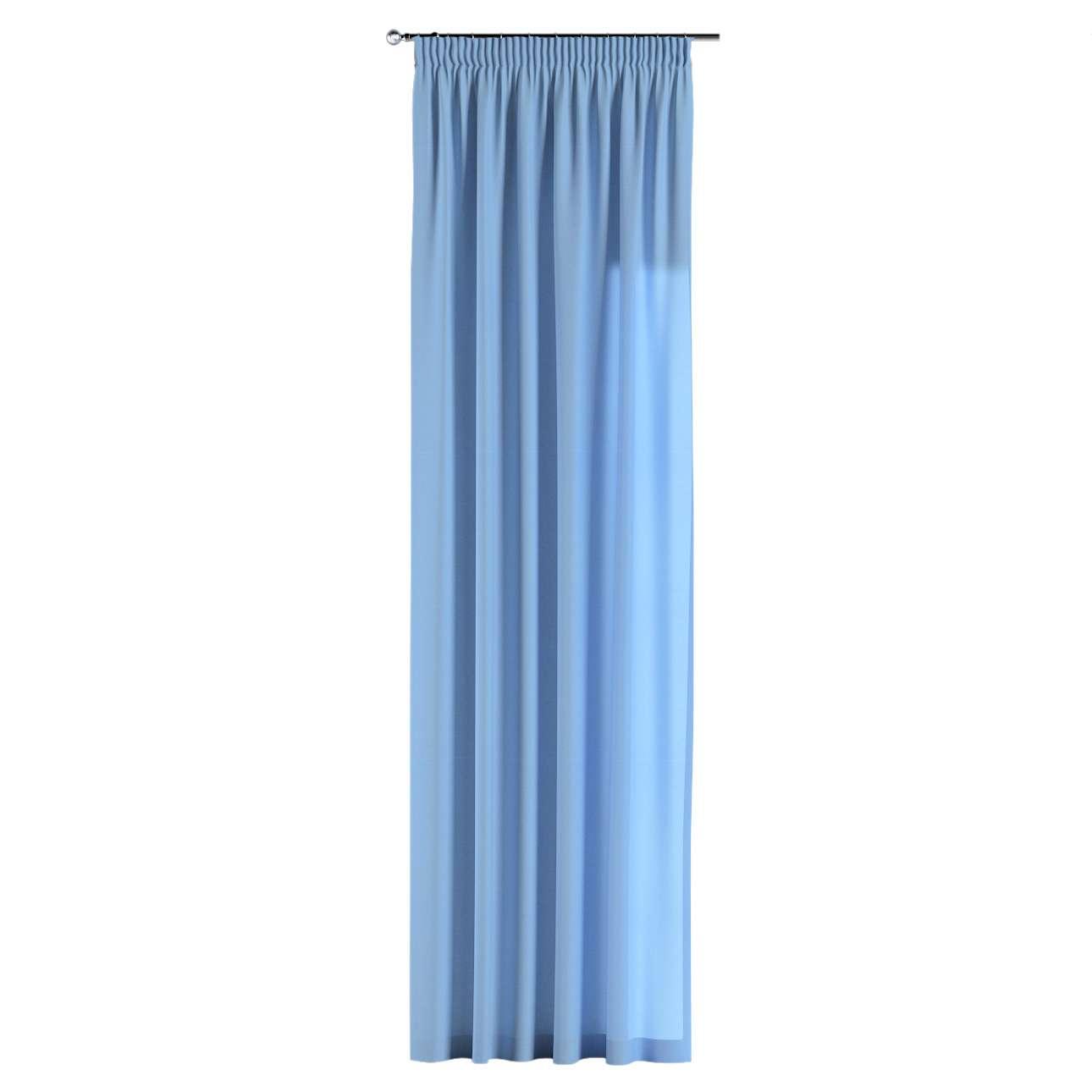 Pieštukinio klostavimo užuolaidos 130 x 260 cm (plotis x ilgis) kolekcijoje Loneta , audinys: 133-21