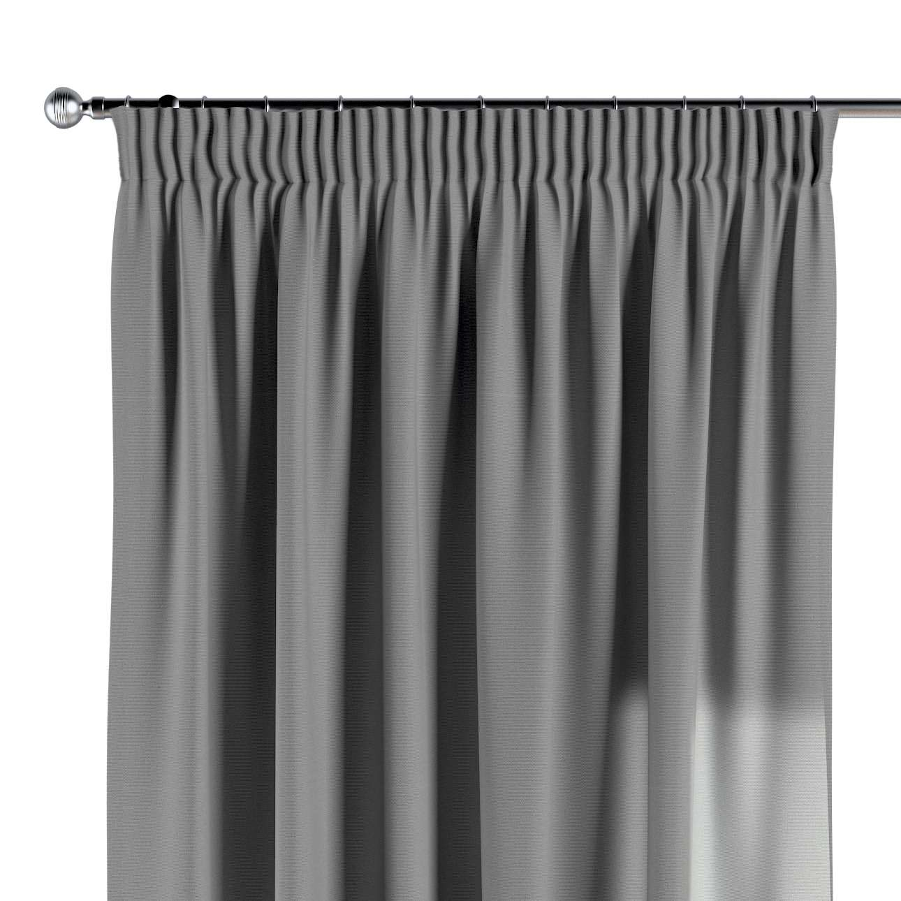 Pencil pleat curtains in collection Loneta , fabric: 133-24