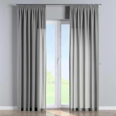Vorhang mit Kräuselband 133-24 grau Kollektion Loneta