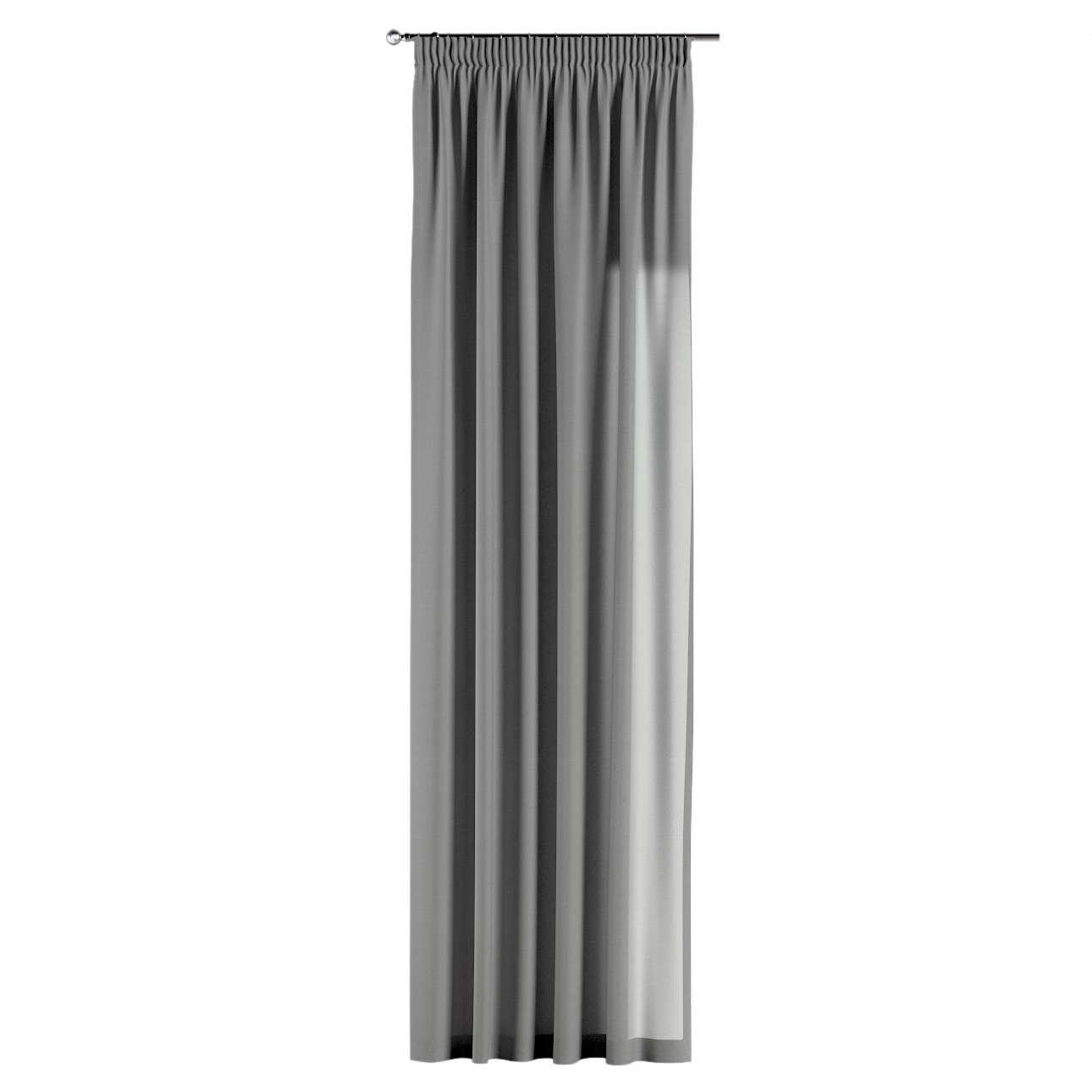Gardin med rynkebånd 1 stk. 130 × 260 cm fra kolleksjonen Loneta, Stoffets bredde: 133-24