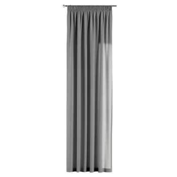 Pieštukinio klostavimo užuolaidos 130 x 260 cm (plotis x ilgis) kolekcijoje Loneta , audinys: 133-24