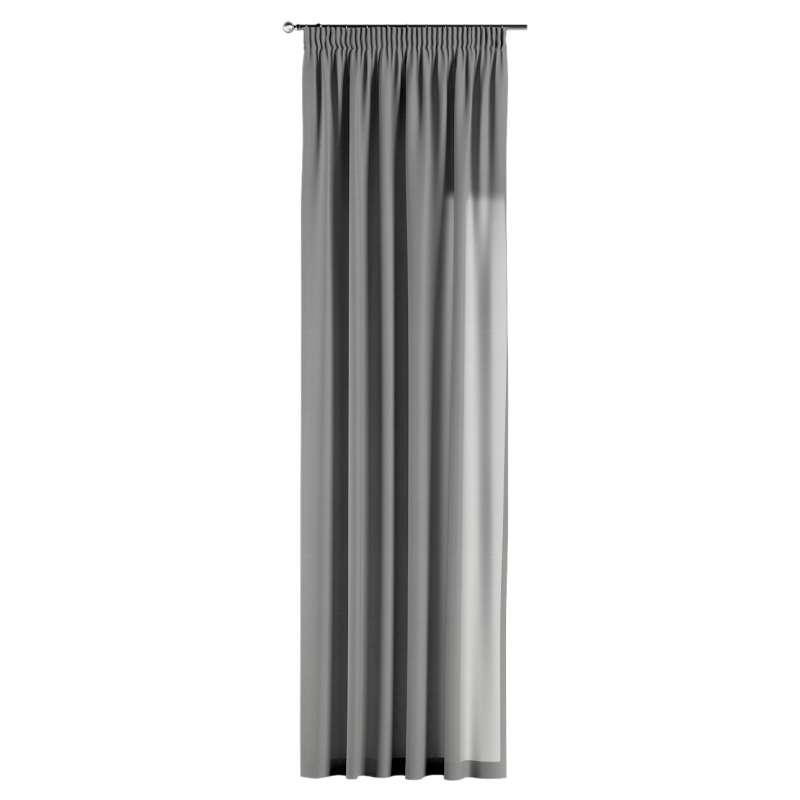 Gardin med rynkband 1 längd i kollektionen Loneta, Tyg: 133-24