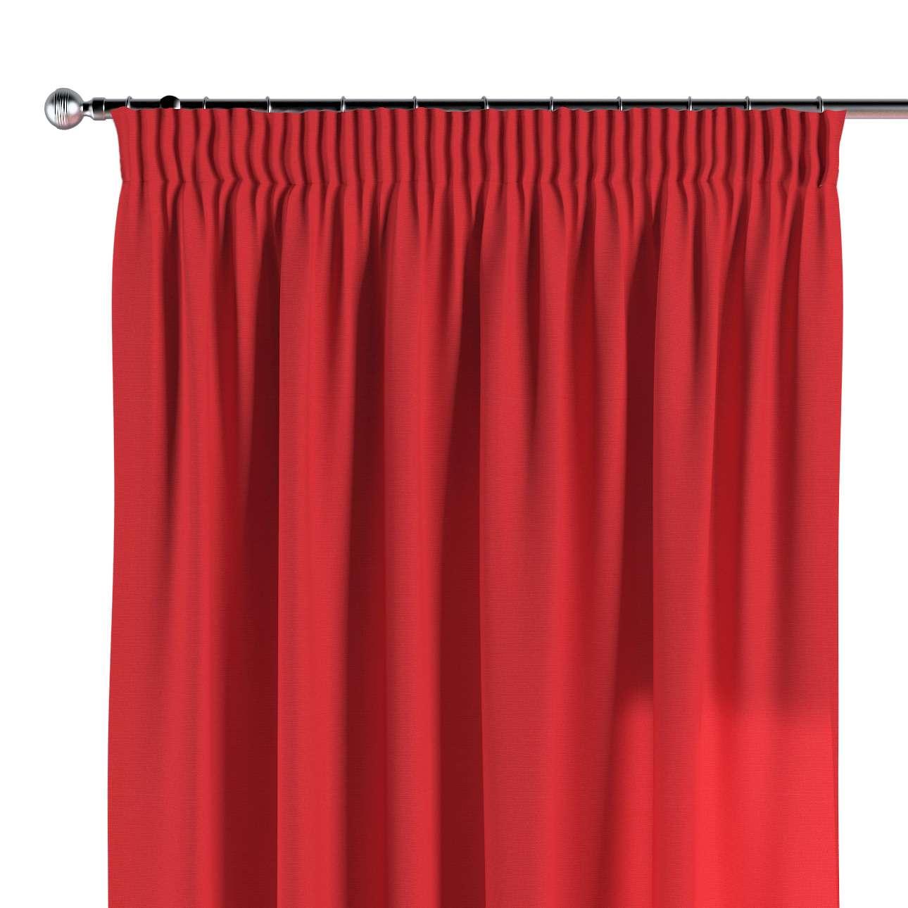 Vorhang mit Kräuselband 130 x 260 cm von der Kollektion Loneta, Stoff: 133-43