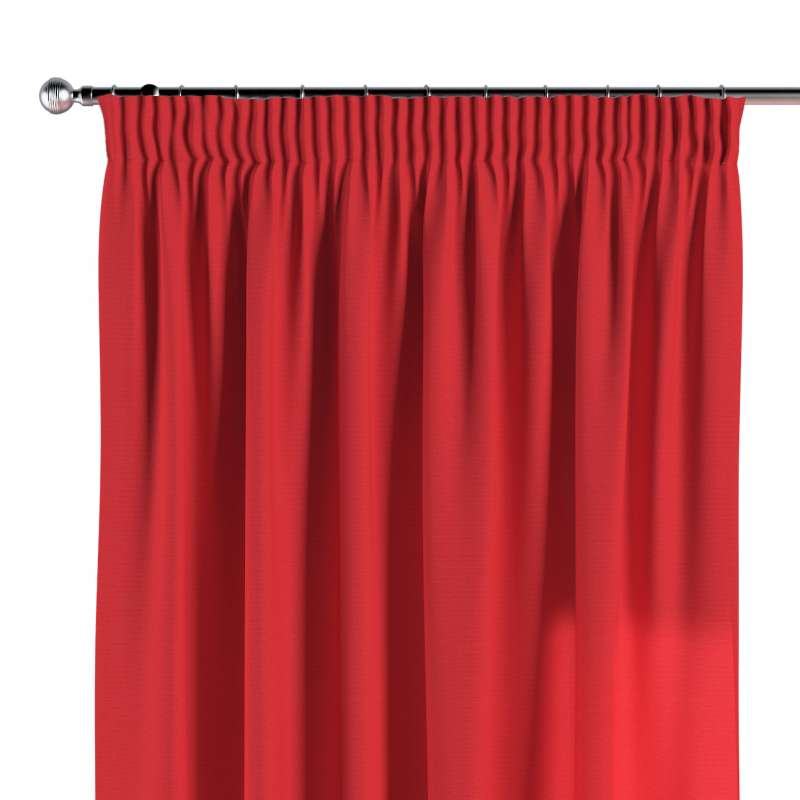 Pencil pleat curtain in collection Loneta , fabric: 133-43