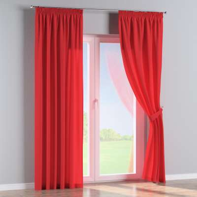 Pencil pleat curtains in collection Loneta , fabric: 133-43