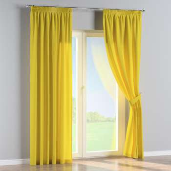 Pencil pleat curtains in collection Loneta , fabric: 133-55