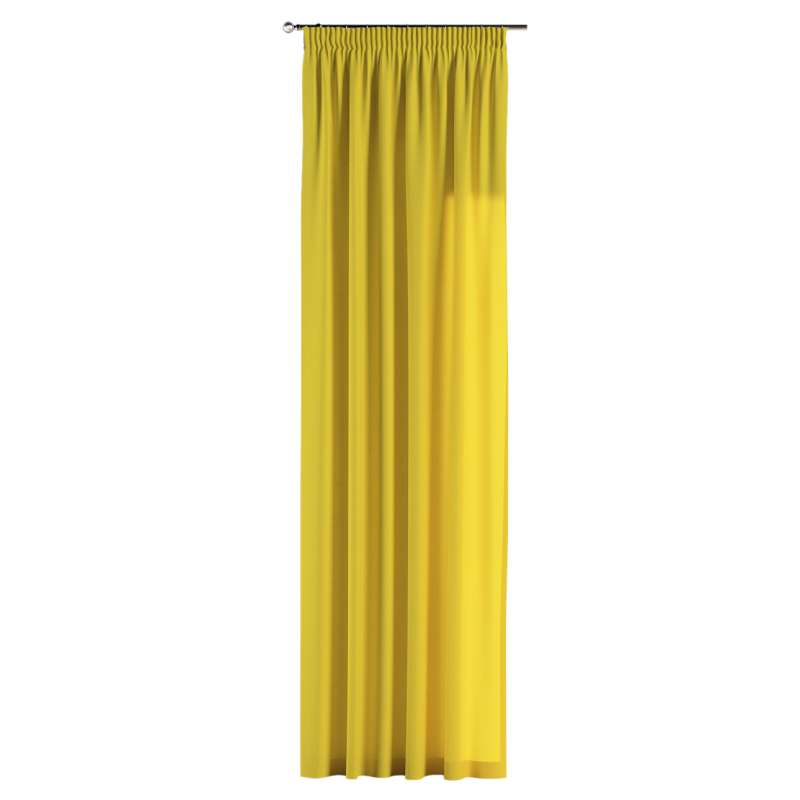Pencil pleat curtain in collection Loneta , fabric: 133-55