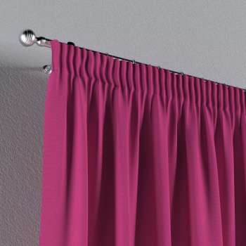 Pencil pleat curtains in collection Loneta , fabric: 133-60