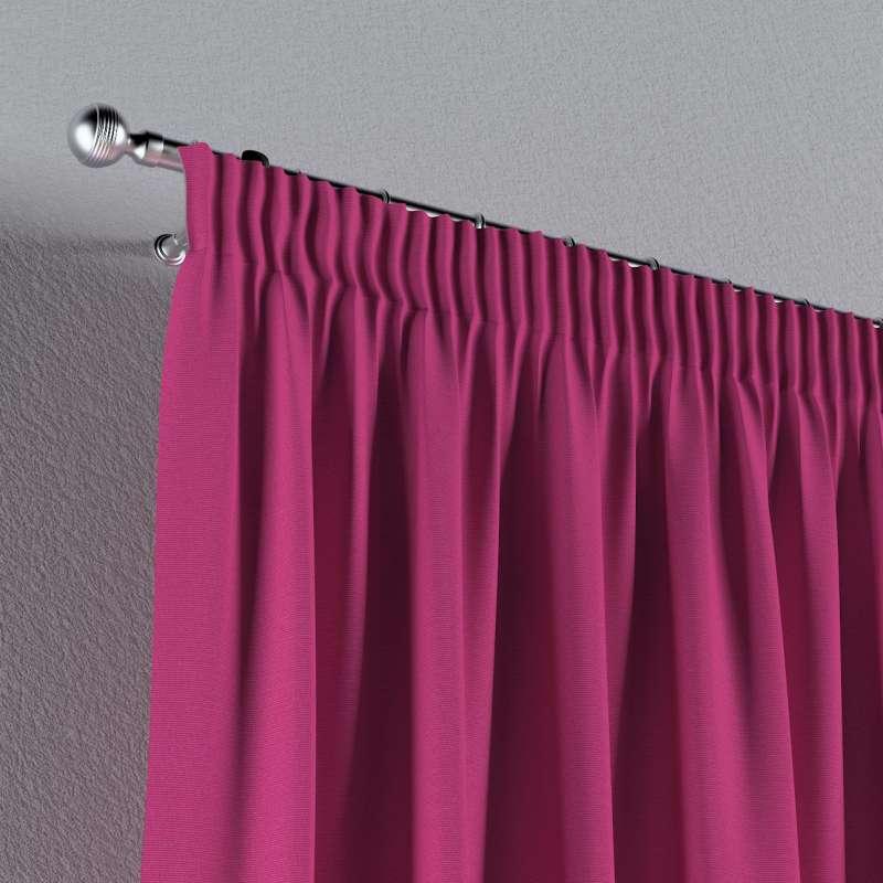 Vorhang mit Kräuselband von der Kollektion Loneta, Stoff: 133-60
