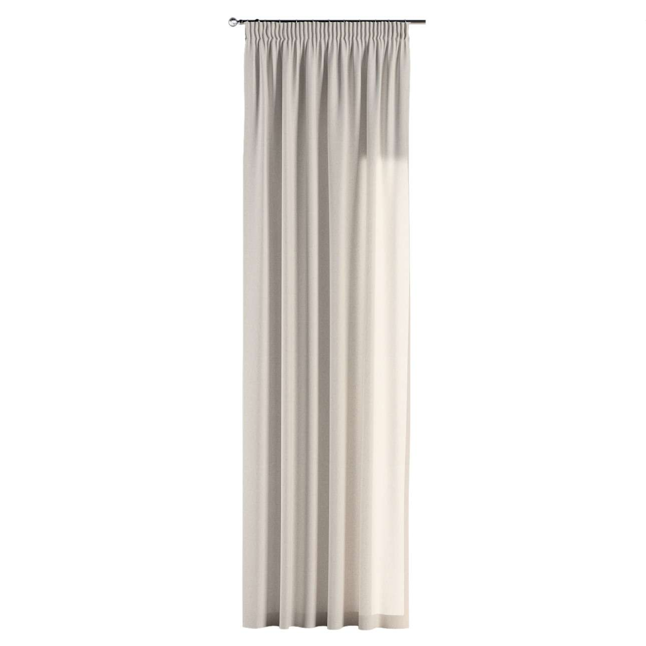 Pieštukinio klostavimo užuolaidos 130 x 260 cm (plotis x ilgis) kolekcijoje Loneta , audinys: 133-65