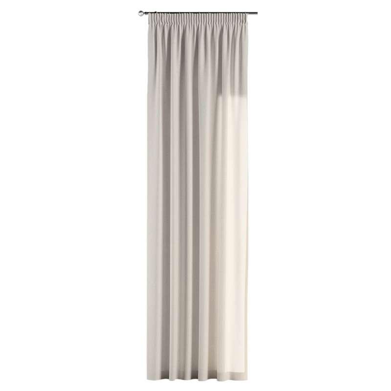 Gardin med rynkband 1 längd i kollektionen Loneta, Tyg: 133-65