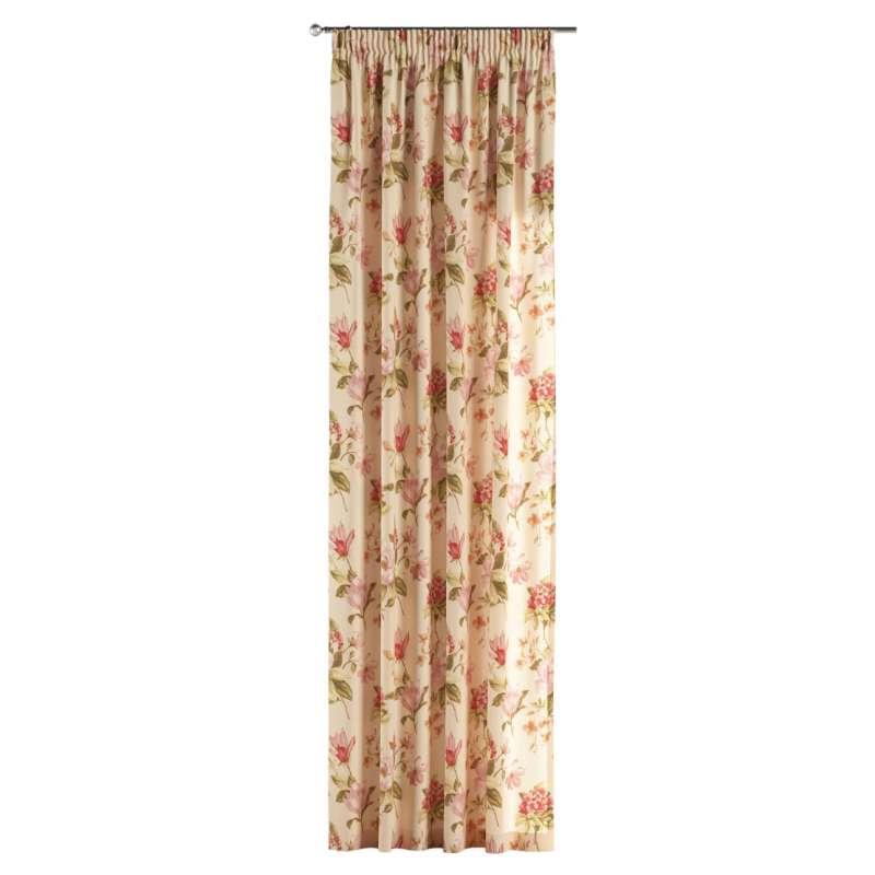 Vorhang mit Kräuselband von der Kollektion Londres, Stoff: 123-05