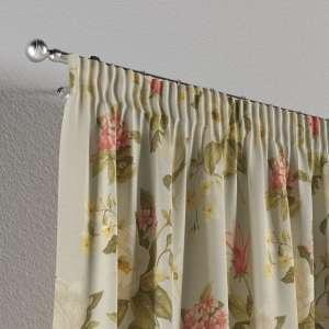 Vorhang mit Kräuselband 130 x 260 cm von der Kollektion Londres, Stoff: 123-65