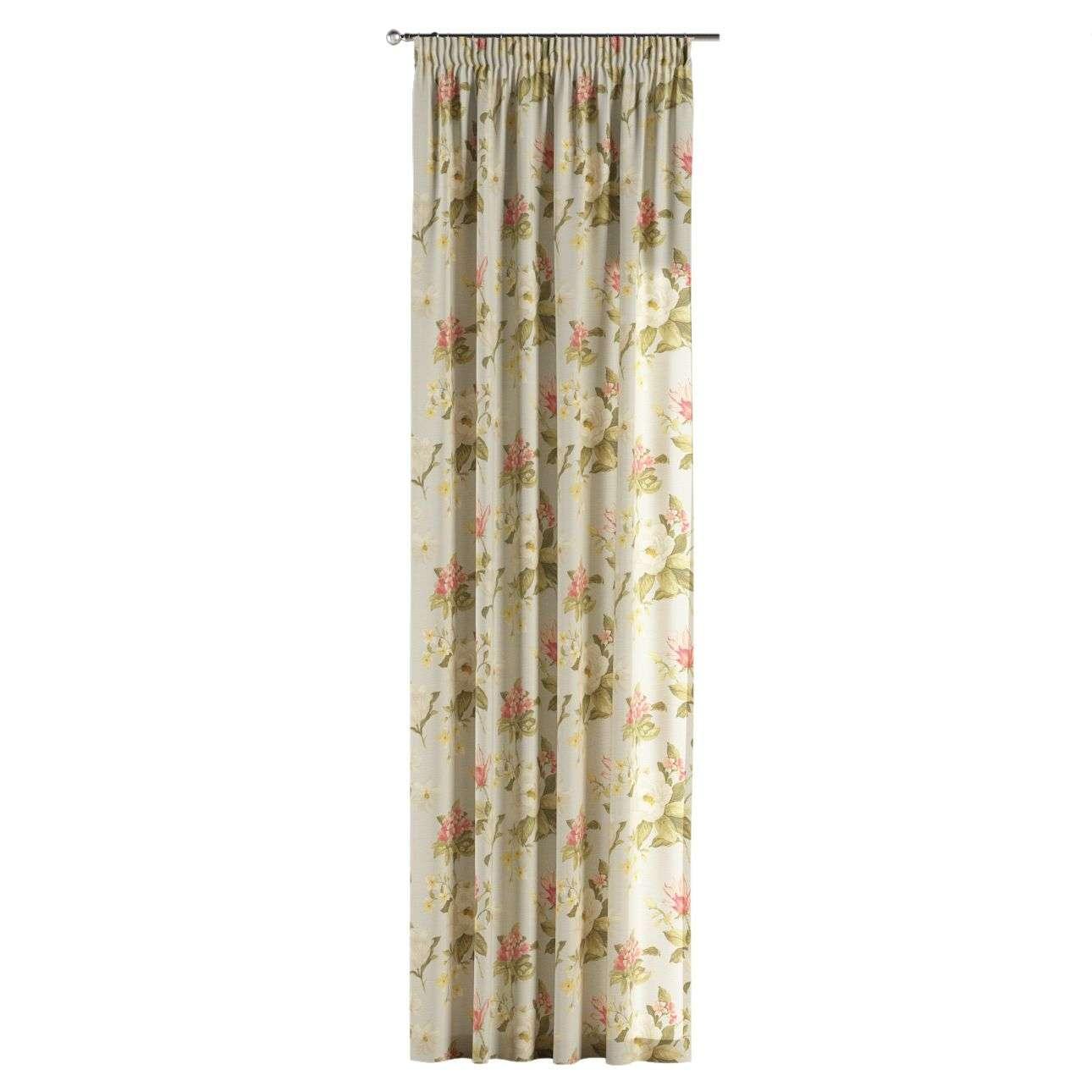 Vorhang mit Kräuselband 1 Stck. 130 x 260 cm von der Kollektion Londres, Stoff: 123-65