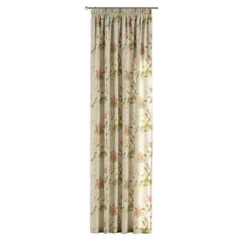 Vorhang mit Kräuselband von der Kollektion Londres, Stoff: 123-65