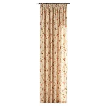 Gardin med rynkebånd 130 x 260 cm fra kollektionen Londres, Stof: 124-05