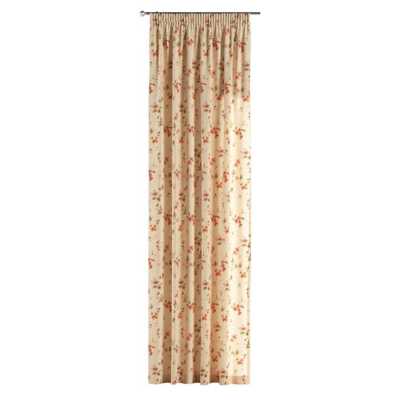 Záves na riasiacej páske V kolekcii Londres, tkanina: 124-05