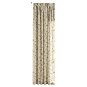 Pencil pleat curtains 130 x 260 cm (51 x 102 inch) in collection Londres, fabric: 124-65