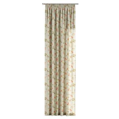 Pencil pleat curtains in collection Londres, fabric: 124-65