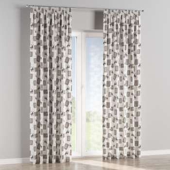 Pencil pleat curtains 130 x 260 cm (51 x 102 inch) in collection Christmas, fabric: 630-10