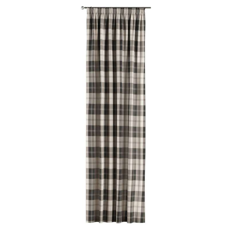 Pencil pleat curtain in collection Edinburgh, fabric: 115-74