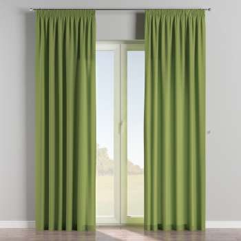 Pencil pleat curtains 130 x 260 cm (51 x 102 inch) in collection Cotton Panama, fabric: 702-27