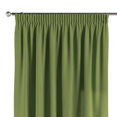Pencil pleat curtains in collection Panama Cotton, fabric: 702-27