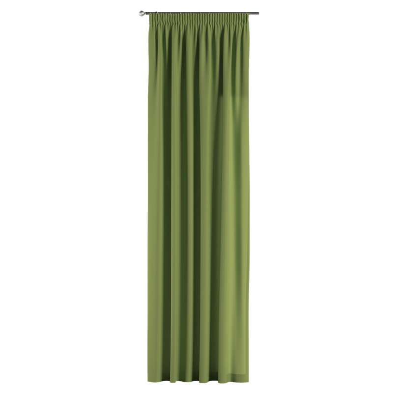 Pencil pleat curtain in collection Panama Cotton, fabric: 702-27