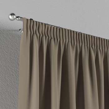 Pieštukinio klostavimo užuolaidos 130 x 260 cm (plotis x ilgis) kolekcijoje Cotton Panama, audinys: 702-28
