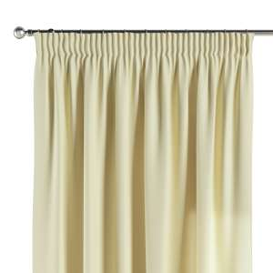 Pencil pleat curtains 130 x 260 cm (51 x 102 inch) in collection Cotton Panama, fabric: 702-29