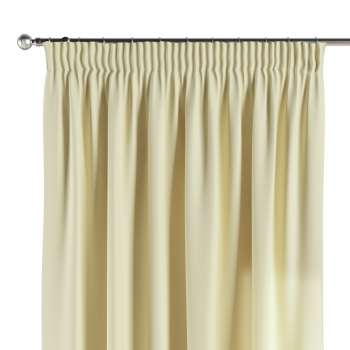 Pencil pleat curtains 130 × 260 cm (51 × 102 inch) in collection Panama Cotton, fabric: 702-29