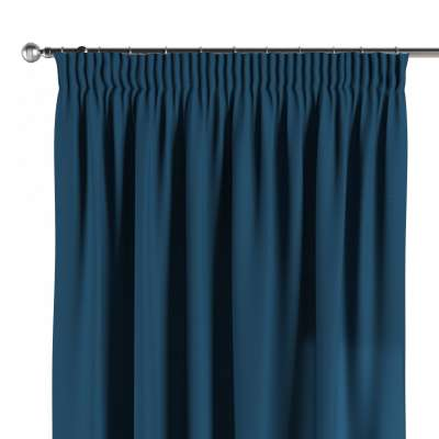 Pencil pleat curtains in collection Panama Cotton, fabric: 702-30