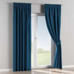 Pencil pleat curtains 130 x 260 cm (51 x 102 inch) in collection Cotton Panama, fabric: 702-30