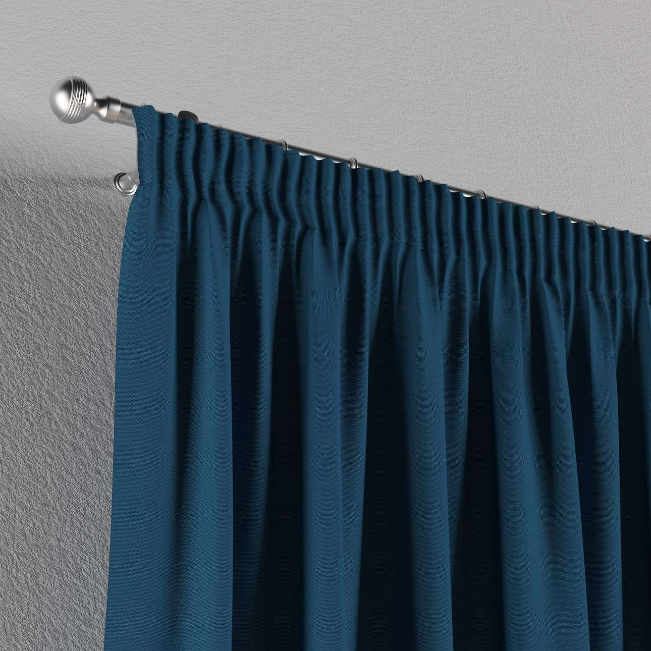Gardin med rynkebånd 130 x 260 cm fra kollektionen Cotton Panama, Stof: 702-30