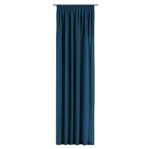 Gardin med rynkebånd 1 stk. 130 x 260 cm fra kolleksjonen Cotton Panama, Stoffets bredde: 702-30