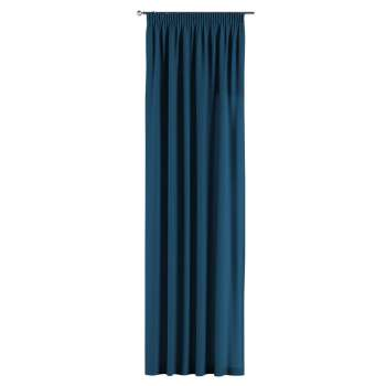 Gardin med rynkband 1 längd 130 x 260 cm i kollektionen Panama Cotton , Tyg: 702-30