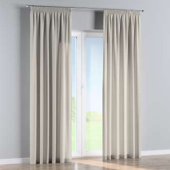 Pencil pleat curtains in collection Panama Cotton, fabric: 702-31