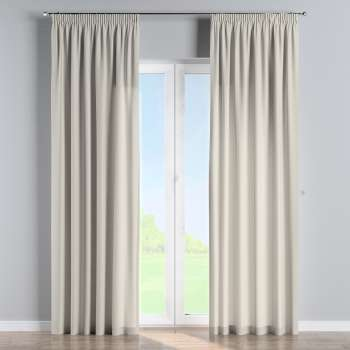 Pencil pleat curtains 130 × 260 cm (51 × 102 inch) in collection Panama Cotton, fabric: 702-31