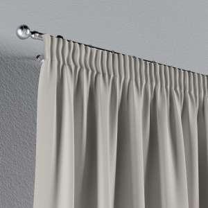 Vorhang mit Kräuselband 130 x 260 cm von der Kollektion Cotton Panama, Stoff: 702-31