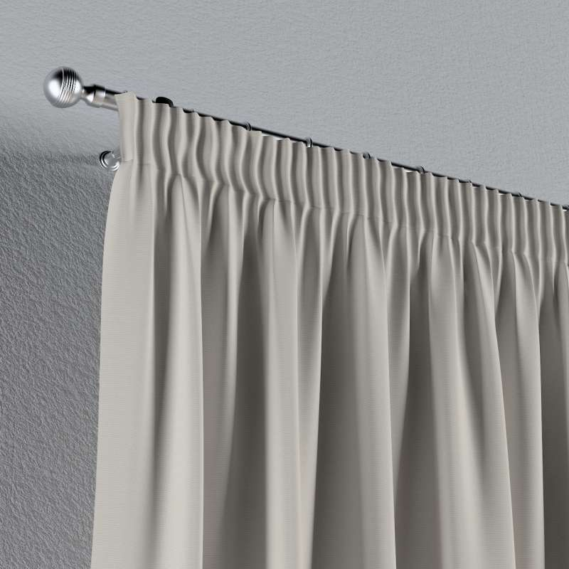 Vorhang mit Kräuselband von der Kollektion Cotton Panama, Stoff: 702-31