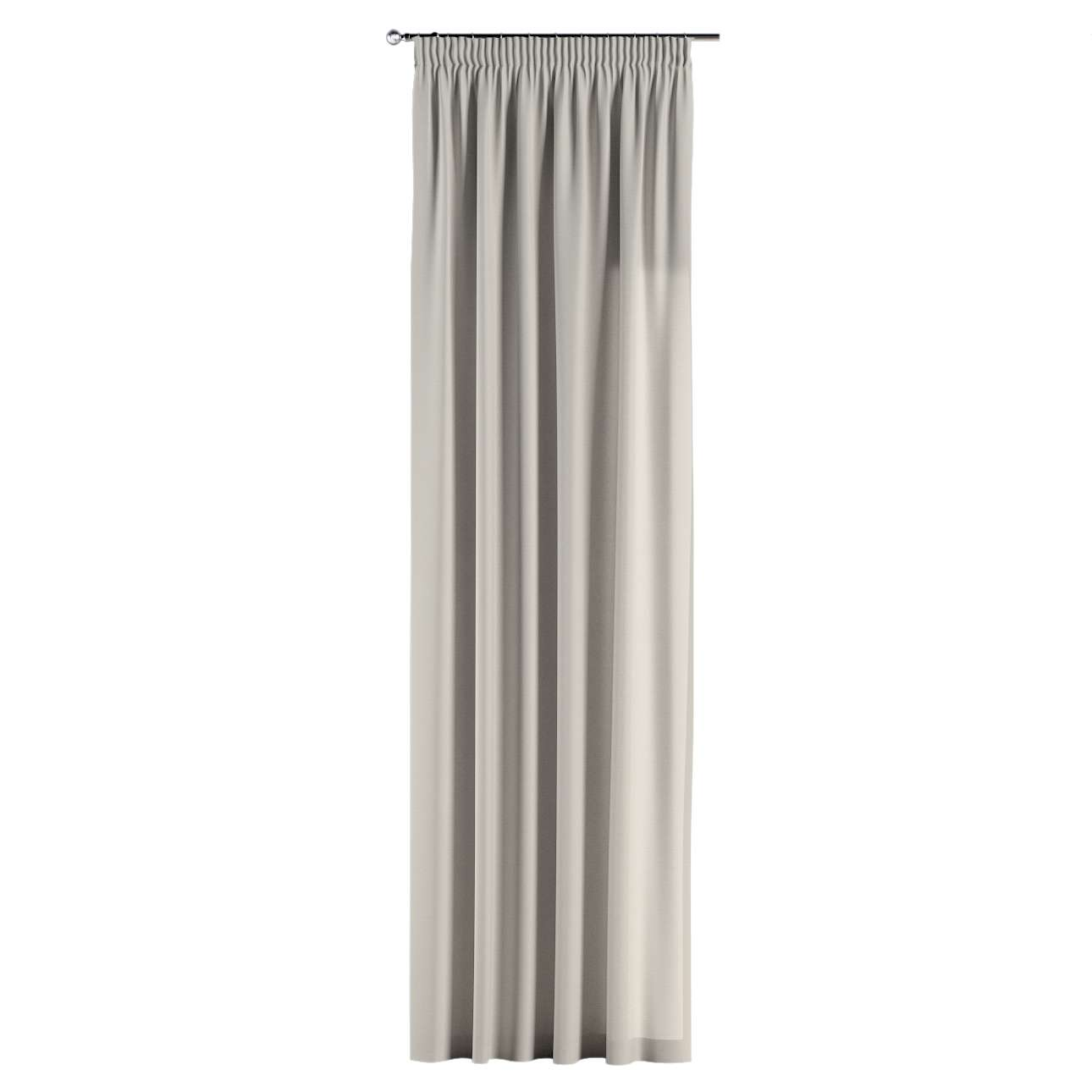 Gardin med rynkband 1 längd 130 x 260 cm i kollektionen Panama Cotton , Tyg: 702-31