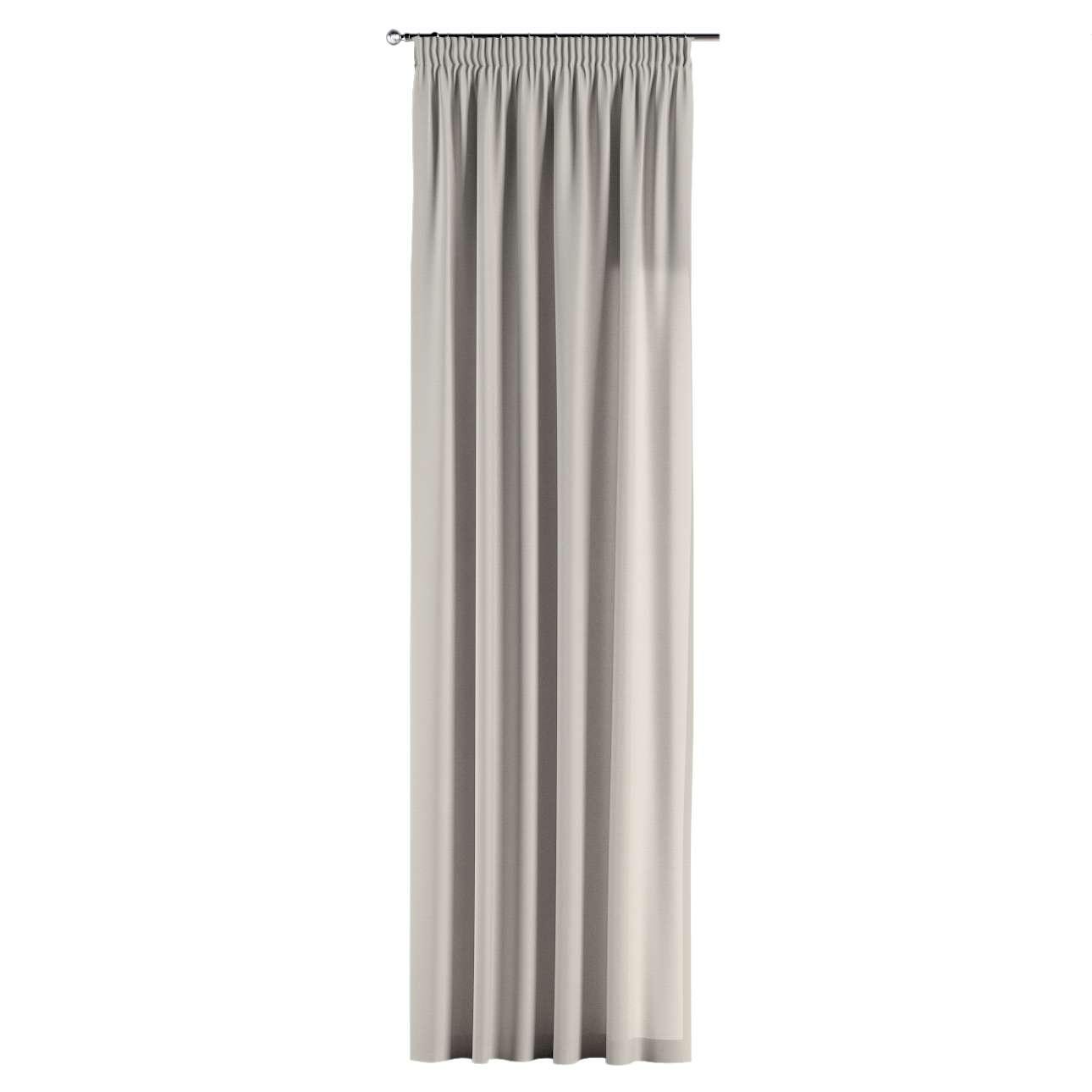 Gardin med rynkebånd 1 stk. 130 x 260 cm fra kolleksjonen Cotton Panama, Stoffets bredde: 702-31
