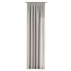 Zasłona na taśmie marszczącej 1 szt. 1szt 130x260 cm w kolekcji Cotton Panama, tkanina: 702-31