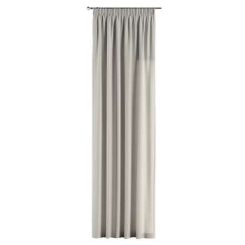 Gardin med rynkebånd 130 × 260 cm fra kollektionen Cotton Panama, Stof: 702-31