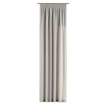 Pieštukinio klostavimo užuolaidos 130 x 260 cm (plotis x ilgis) kolekcijoje Cotton Panama, audinys: 702-31