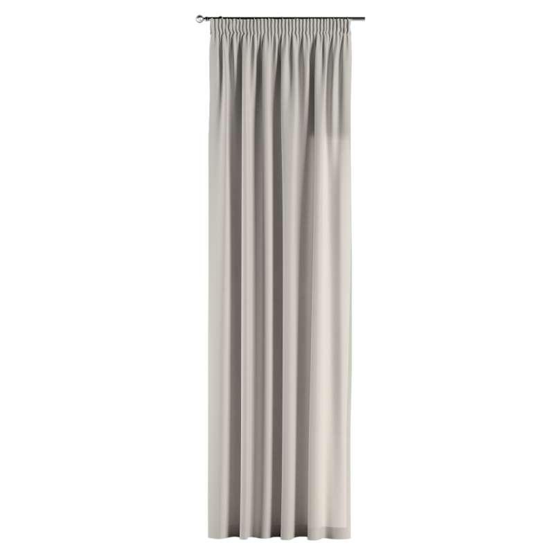 Gardin med rynkband 1 längd i kollektionen Panama Cotton, Tyg: 702-31