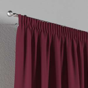 Pencil pleat curtains 130 x 260 cm (51 x 102 inch) in collection Cotton Panama, fabric: 702-32