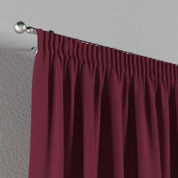 Pencil pleat curtains in collection Panama Cotton, fabric: 702-32